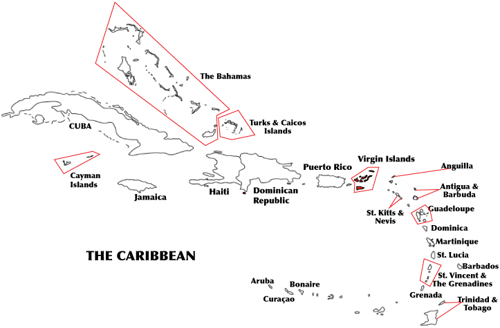 National Caribbeanamerican Heritage Month: Map Of The Bahamas Worksheet At Usa Maps